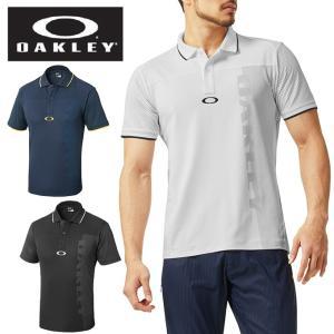 ストレッチ性の高い吸汗速乾素材、SPASSY(R)を採用したポロシャツ。衿のリブはラインの脇に編み柄...