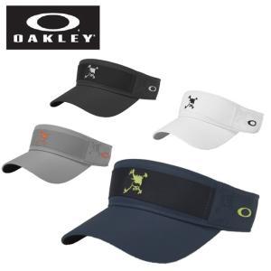 オークリー ゴルフ サンバイザー メンズ SKULL TAPE VISOR スカルテープバイザー 911992JP OAKLEY|himaraya
