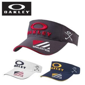オークリー ゴルフ サンバイザー メンズ BG FIXED VISOR 4.0 フィックスドバイザー 911988JP OAKLEY|himaraya