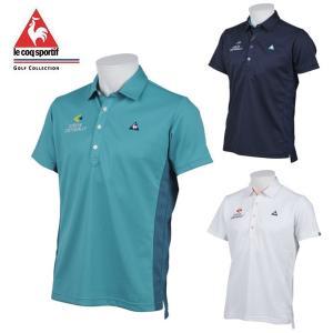 ルコック le coq sportif ゴルフウェア ポロシャツ 半袖 メンズ ネオミニメッシュ半袖ポロ QGMLJA26