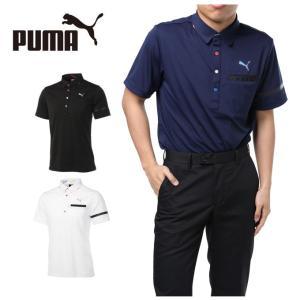 プーマ ゴルフウェア ポロシャツ 半袖 メンズ ゴルフ NITE ポケット SS ポロシャツ 923676 PUMA...