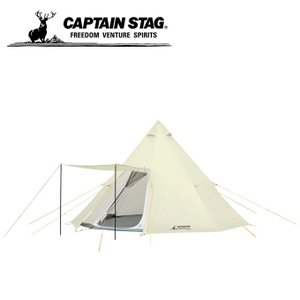 大人数で使えるオクタゴン(8角形)の大型ワンポールテント! 4箇所にベンチレーションを装備 軽くて扱...