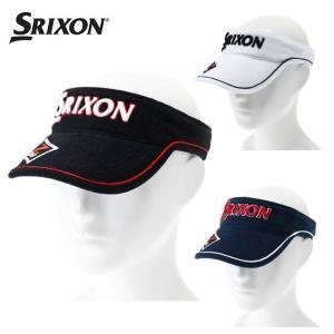 スリクソン SRIXON ゴルフ サンバイザー メンズ パイルバイザー SMH8330X|himaraya