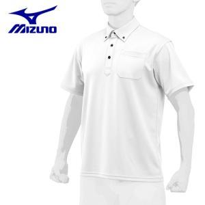 ミズノ 野球ウェア 半袖Tシャツ メンズ ポロシャツ ハイドロ銀チタン 12JC8H8001 ミズノプロ himaraya