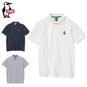 チャムス CHUMS ポロシャツ メンズ Booby Polo Shirt ブービーポロシャツ CH02-1080