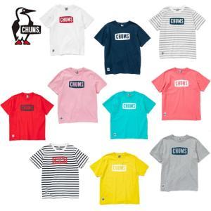 チャムス CHUMS Tシャツ 半袖 レディース Logo T-Shirt ロゴTシャツ トップス ...