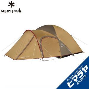高品質のスペックでありながら、お求め易い価格帯。 入門用テントとして圧倒的な人気を誇る、スノーピーク...