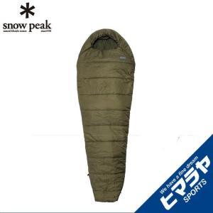 スノーピーク snow peak マミー型シュラフ ミリタリースリーピングバッグ オリーブドラブ BDD-050OD|himaraya