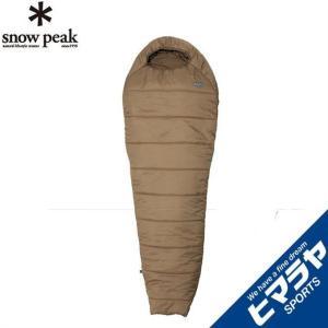 スノーピーク snow peak マミー型シュラフ ミリタリースリーピングバッグ サンドストーン BDD-050SS|himaraya