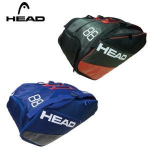 ヘッド テニス バドミントン ラケットバッグ 5本 イーエス スーパーコンビ 9R ES SUPER COMBI 9R 283687 HEAD メンズ レディース|himaraya