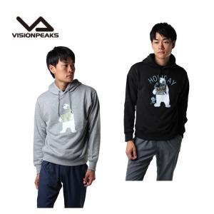 ビジョンピークス VISIONPEAKS スウェットパーカー メンズ プリント VP171102H51|himaraya