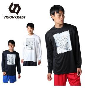 ビジョンクエスト VISION QUEST  バスケットボール 長袖シャツ メンズ プリントTシャツ VQ570414H01|himaraya