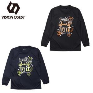 ビジョンクエスト VISION QUEST バスケットボール 長袖シャツ ジュニア 文字Tシャツ VQ570414H03|himaraya