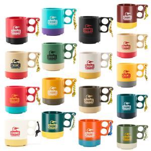 キャンプの必需品、軽くて割れにくいマグカップです。チャムスらしいカラフルな色使いでいくつも欲しくなっ...