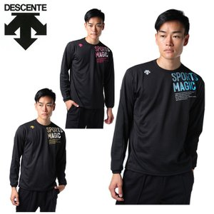 デサント DESCENTE バレーボール 長袖シャツ メンズ グラフィック DOR-B9176|himaraya
