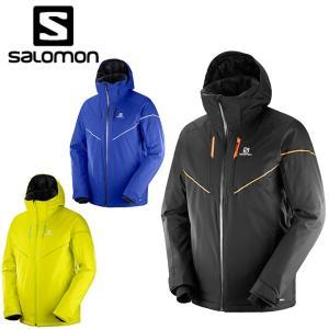 サロモン スキーウェア ジャケット メンズ ストームレース ジャケット STORMRACE JKT M salomon|himaraya