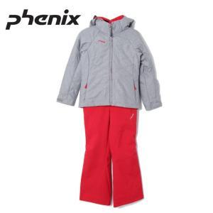 フェニックス Phenix スキーウェア 上下セット ジュニア Mature Girl`s Two-piece PS8H22P91 サイズ調整機能 スノーウェア|himaraya