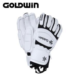 ゴールドウィン スキーグローブ メンズ レディース Leather Racing Glove レザー レーシング G81800P GOLDWIN|himaraya