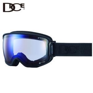 ダイス DICE  スキー・スノーボードゴーグル メンズ レディース BANK BK84265MBK|himaraya