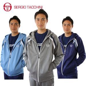 セルジオタッキーニ テニスウェア メンズ スウェットパーカー フルジップフリーススウェットパーカー ST530315H01 SERGIO TACCHINI セルジオ タッキーニ himaraya