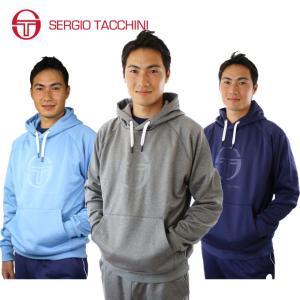 セルジオタッキーニ テニスウェア メンズ スウェットパーカー フリーススウェットパーカー ST530315H02 SERGIO TACCHINI セルジオ タッキーニ himaraya