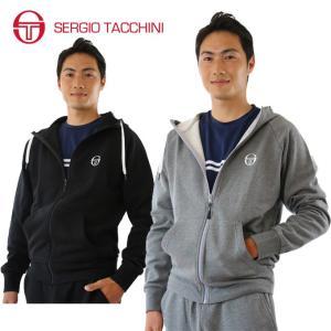 セルジオタッキーニ テニスウェア メンズ スウェットパーカー フルジップスウェットパーカー ST530315H04 SERGIO TACCHINI セルジオ タッキーニ himaraya