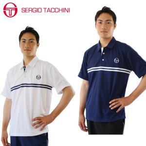 セルジオタッキーニ テニスウェア メンズ ゲームシャツ ポロシャツ 半袖 ST530317H01 SERGIO TACCHINI セルジオ タッキーニ himaraya