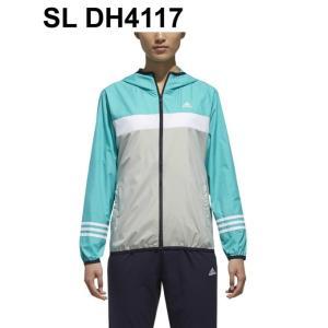 アディダス ウインドブレーカー ジャケット レディース SPORT ID カラーブロックウィンドフルジップパーカー FAT40 adidas|himaraya|04