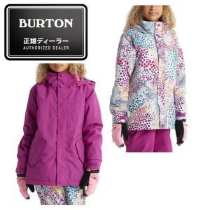 バートン BURTON スノーボードウェア ジャケット ジュニア Girls' Elodie Jacket 130451|himaraya