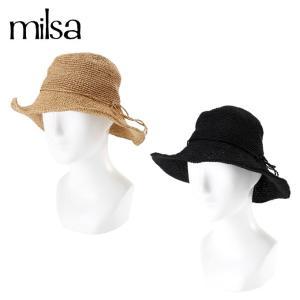 ミルサ milsa ゴルフ キャップ レディース コンパクト手編みキャペリン 186-361236|himaraya