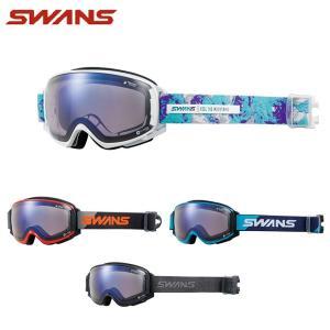 スワンズ SWANS スキー・スノーボードゴーグル メンズ レディース GOGGLE 調光 ROVO-CU/MDH-SC-PAF|himaraya