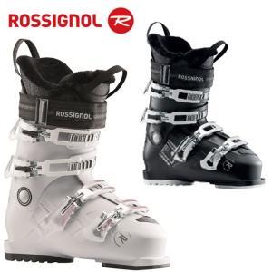 ロシニョール ROSSIGNOL スキーブーツ レディース PURE CONFORT 60  WHITE GREY RBH8230|himaraya