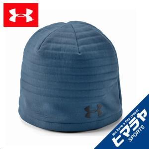 アンダーアーマー ゴルフ ニット帽 メンズ UAゴルフデイトナビーニー キャップ MEN 1318526-414 UNDER ARMOUR|himaraya