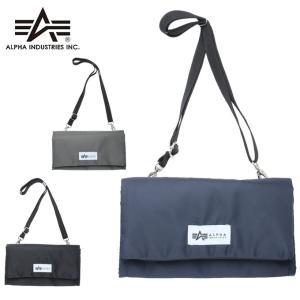 アルファインダストリー ALPHA INDUSTRIES ポーチ メンズ レディース ソフトツイルウォレットポーチ 22629191|himaraya
