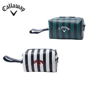 キャロウェイ ポーチ メンズ レディース Style Stripeポーチ18JM スタイルストライプ Callaway|himaraya