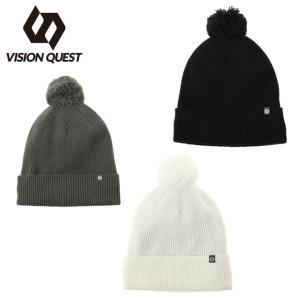 ビジョンクエスト VISION QUEST ニット帽 メンズ レディース ニットキャップ ポンポン VQ430102H05|himaraya