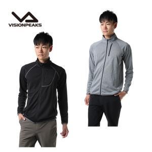 スキー アンダーウェア メンズ インナー フルジップシャツ NNER VP130102H01 ビジョンピークス VISIONPEAKS|himaraya