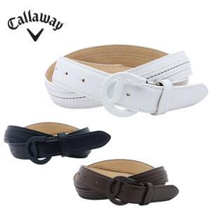 キャロウェイ ゴルフ ベルト メンズ スムース塗装Cバックルベルト 241-8282500 Callaway|himaraya