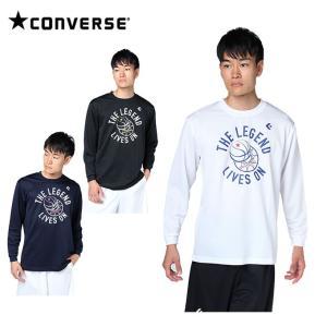 コンバース CONVERSE バスケットボール 長袖シャツ メンズ 長袖プリントTシャツ CBD282324L|himaraya