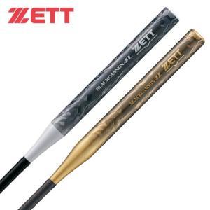 ゼット ZETT ソフトボールバット2号用 メンズ レディース ソフトボール2号 FRP製バット ブラックキャノン4L BCT52880