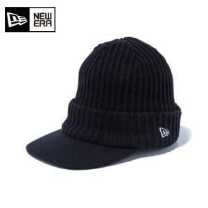 ニューエラ NEW ERA ゴルフ ニット帽 メンズ バイザーニット インナーフリース New Eraオールドロゴ 11781154|himaraya
