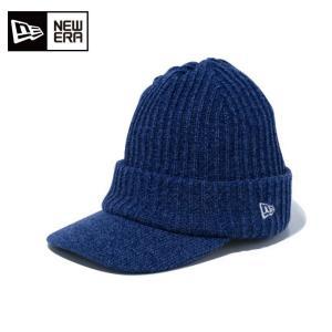 ニューエラ NEW ERA ゴルフ ニット帽 メンズ バイザーニット インナーフリース New Eraオールドロゴ 11781155|himaraya