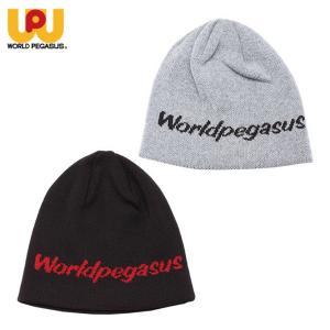 ワールドペガサス WORLD PEGASUS 野球 ニット帽 メンズ レディース ジャガードビーニー WAAKC8F|himaraya