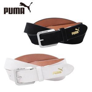 プーマ ゴルフ ベルト メンズ スウェード 053549 PUMA|himaraya