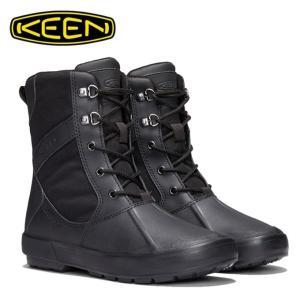 キーン KEEN スノーブーツ 冬靴 レディース ベレテア ブーツ ナイロン 防水ウィンターブーツ 1019676 BK/BK|himaraya