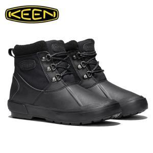 キーン KEEN スノーブーツ 冬靴 レディース ベレテア アンクルナイロン 防水ウィンターブーツ 1019623 BK/BK|himaraya
