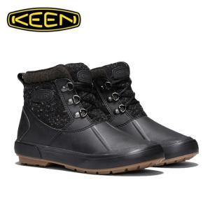 キーン KEEN スノーブーツ 冬靴 レディース ベレテア アンクルウール ウォータープルーフ ウィンターブーツ 1019605 BK/RA|himaraya