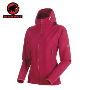 マムート MAMMUT アウトドア ジャケット レディース Runbold Trail SO Hooded Jacket AF Women ランボールド 1011-23011 3490|himaraya