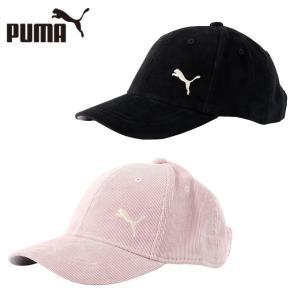 プーマ ゴルフ キャップ レディース ウィメンズ コーデュロイキャップ 866482 PUMA himaraya