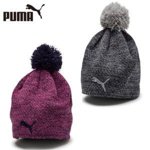プーマ ゴルフ ニット帽 レディース ウィメンズ PWRWARM ビーニー 021697 PUMA|himaraya